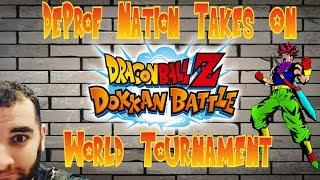 DOKKAN BATTLE   WORLD TOURNAMENT   LETS GO!