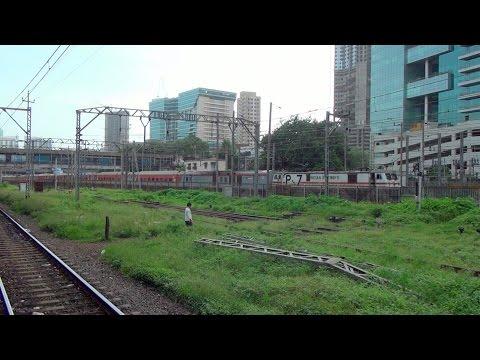 Western Railway Showpiece Mumbai Rajdhani Express taken from Central Railway Zone i.e Parel Station