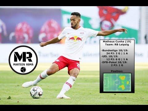 MATHEUS CUNHA | RB LEIPZIG | Skills, Passes & Goals