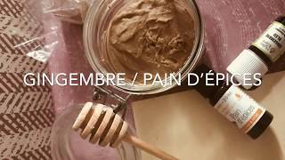 🌺Recette Aroma Zone & moi ☺️Masque Gourmand  Gingembre & Pain D'épices 🌺