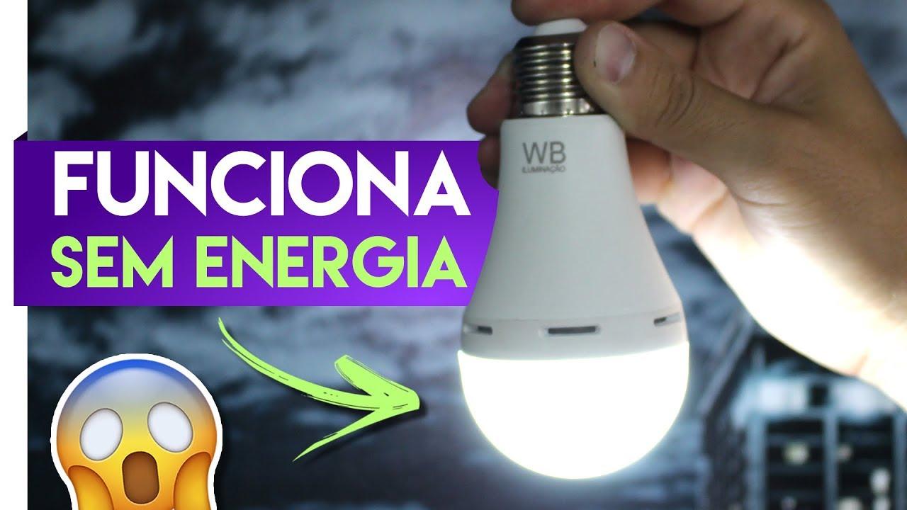 8abf9202d36 INCRÍVEL - Como essa Lâmpada funciona SEM ENERGIA  - YouTube