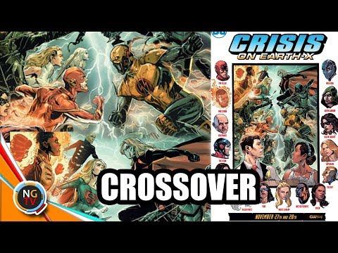 Mega-Crossover | Flash, Arrow, Supergirl, Legends of Tomorrow | Informac || Noticias Geek TV En VIVO