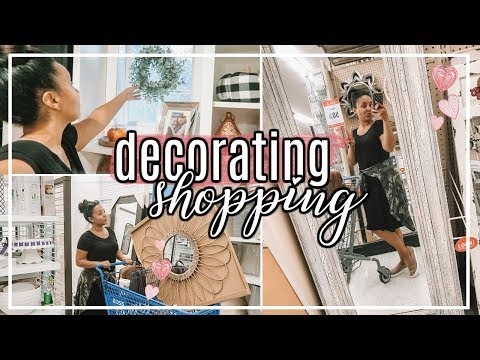 SHOP & DECORATE WITH ME FALL 2018 | SHOPPING FOR NEW HOME DECOR! | Page Danielle