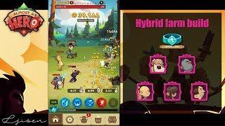 Almost a Hero - Speedrun to 909 | Endgame Hybrid Farm Build