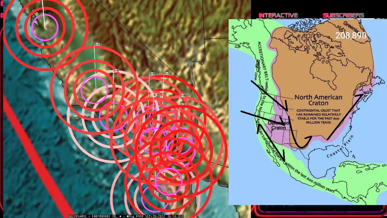 Fracking In Illinois Map.9 19 2017 New Madrid Illinois Rare M4 0 M3 8 Earthquake
