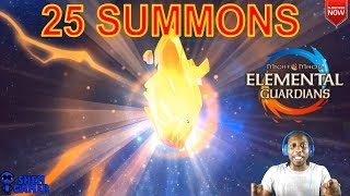 25 Summons (1st Summon Session) - Might and Magic