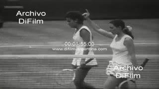 Evonne Goolagong vs Francoise Durr - Wimbledon Championships 1972