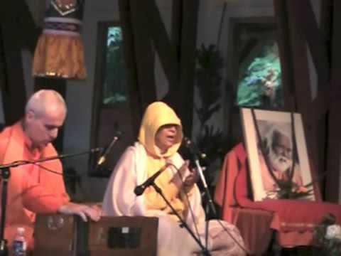 SYVC 381 Satsang Kanti Devi South America 50th Anniversary 2012