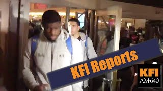 KFI Reports - The 3 UCLA basketball players arrested in China for shoplifting have returned