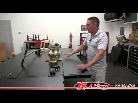 Redline MC655R Motorcycle Lift Table by K&L Supply