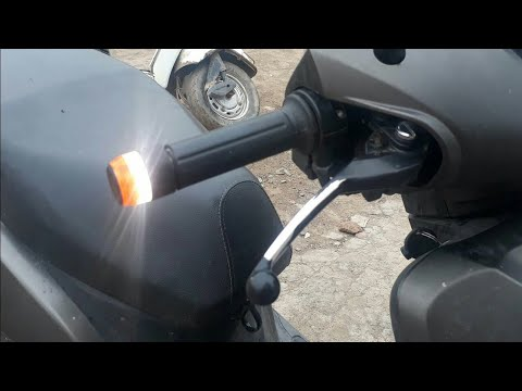How to install bar end light for activa bikes youtube how to install bar end light for activa bikes mozeypictures Choice Image