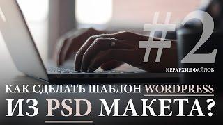 Как сделать шаблон для WordPress из PSD Макета #2. Уроки программирования под WordPress.