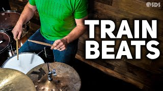 How to Play a Train Beat | Drum Lesson | Stephen Taylor Drum Lessons