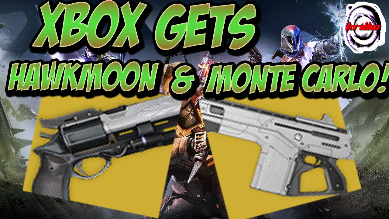 Destiny hawkmoon amp monte carlo on xbox ll taken king tower gameplay
