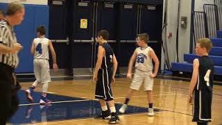 Lynnfield Travel Basketball - Grade 5 - 2017 - Game 1  Vs Georgetown