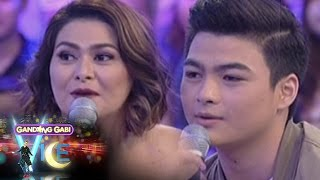 Aiko Melendez tells her son Andre Yllana that love will come in its...
