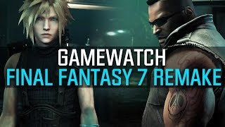 Final Fantasy 7 Remake - Gamewatch: Video-Analyse zum Episoden-Rollenspiel (Gameplay)