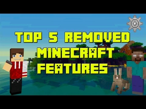 Top 5 Removed Minecraft Features