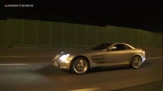 McLaren SLR vs Aston Martin DBS vs Ferrari 458 Italia vs Porsche 911 Turbo