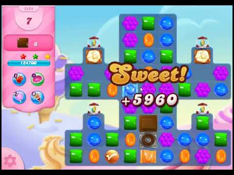 Candy Crush Saga Level 2924 - NO BOOSTERS