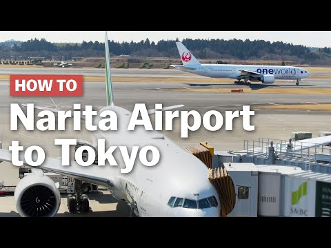 How to get from Narita Airport to Tokyo | japan-guide.com