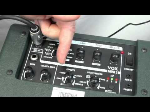Northwest Guitars: Vox Mini 3 Amp