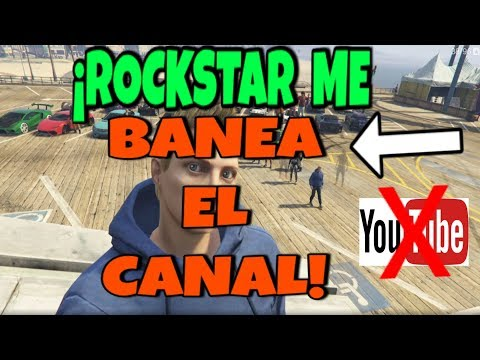 ROCKSTAR ME CIERRA EL CANAL DE YT POR GRABAR GTA V ONLINE!! ROCKSTAR ME BANEA EL CANAL