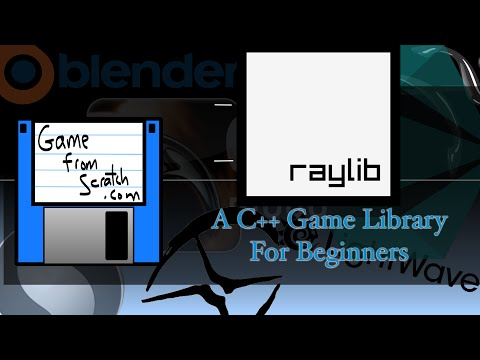 raylib–A C++ Game Library Perfect For Beginners