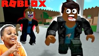 HE ALMOST CAUGHT ME! - Let's Play Roblox Hide And Seek EXTREME! - Playonyx