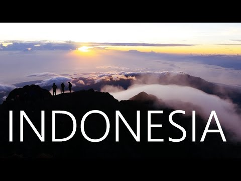 INDONESIA - Bali, Lombok, Gili, Java in 4k | 2016 | Backpacking