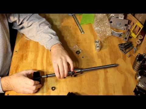 Homemade DIY CNC - Chinese Ballscrew Review - Part 1 - Neo7CNC.com