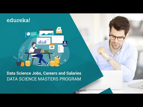 Data Scientist Job, Career & Salary | Data Scientist Salary | Data Science Masters Program | Edureka
