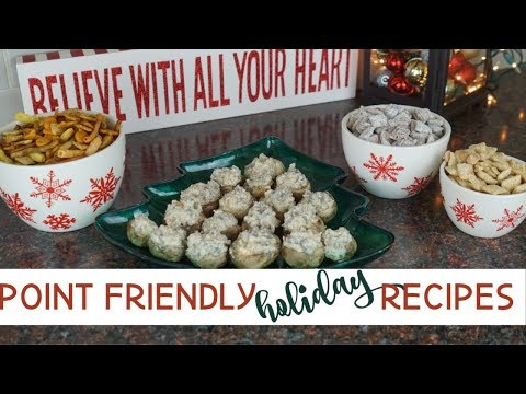 Point Friendly Holiday Appetizer Recipes!