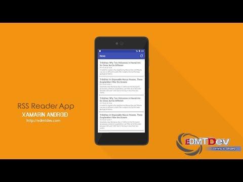 Xamarin Android Tutorial - RSS Reader