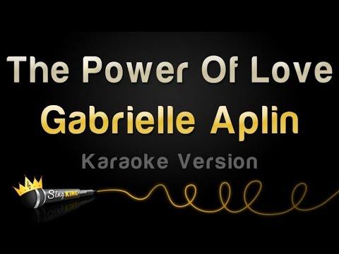 Gabrielle Aplin - The Power Of Love (Karaoke Version)