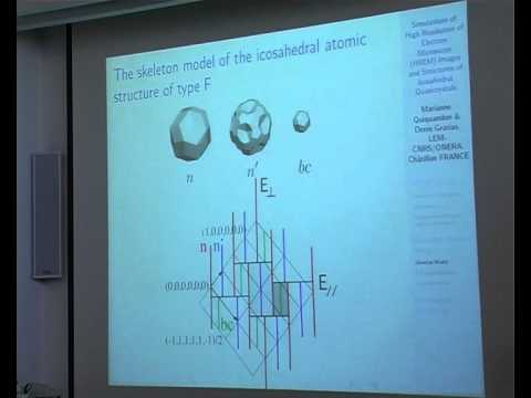 "Prof. Marianne C. Quiquandon - ""Simulations of HREM Images ..."""