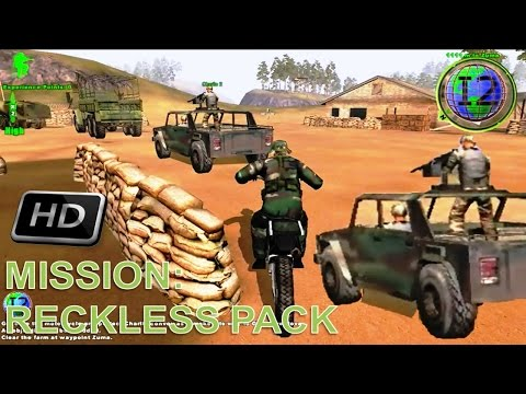 Delta Force Xtreme Walkthrough - Mission 6: Reckless Pack HD