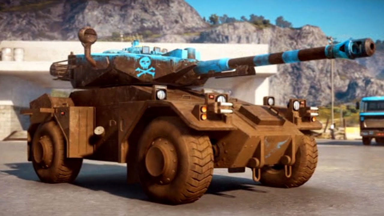 Just Cause 3 - Tanks | Urga Bkolos 2100 - Free Roam ...