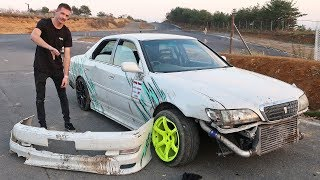 Smashed My Jzx100