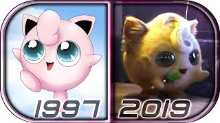 EVOLUTION of JIGGLYPUFF in Movies Cartoons TV Anime (1997-2019) POKÉMON Detective Pikachu full movie