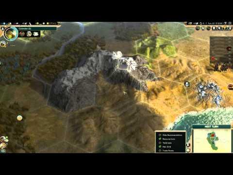 Civilization 5 Brave New World as Albania part 1: WE BEGIN