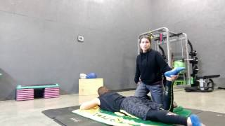Thai massage for the glutes