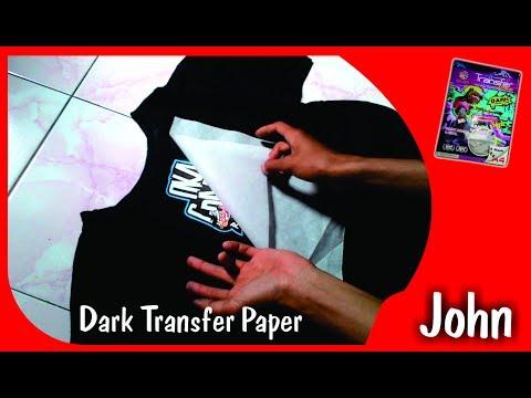 Tutorial Sablon Baju Dark Transfer Paper A4, Mudah dan simpel thumbnail