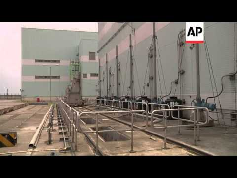 Rare access to Taiwan's almost completed nuclear power plant