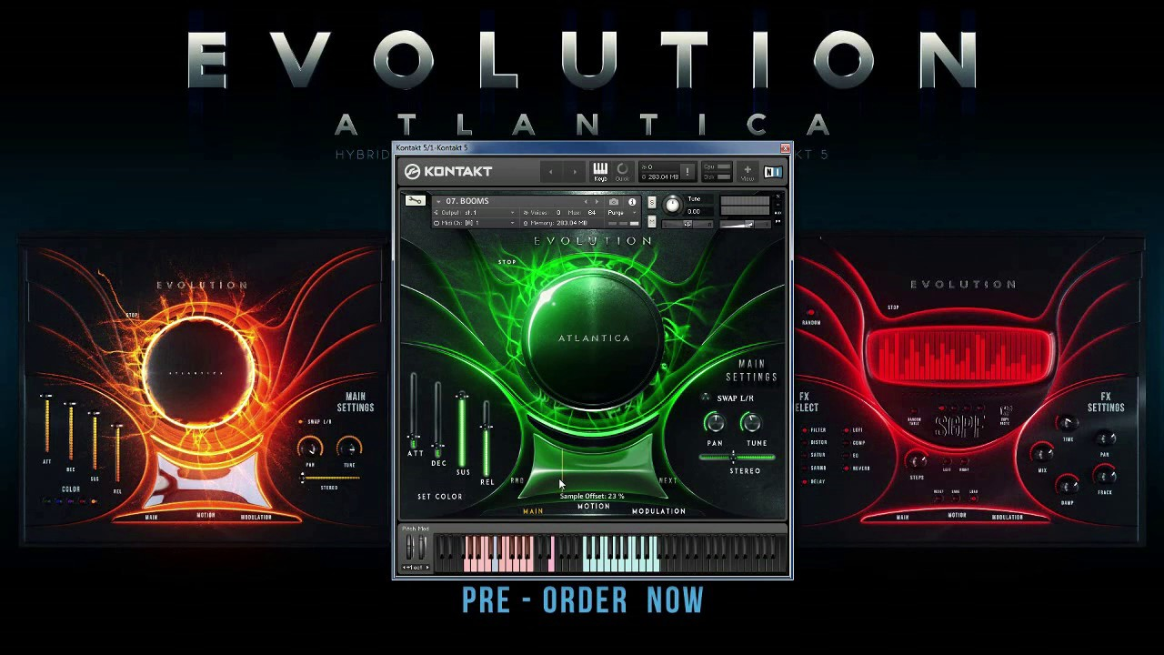 Evolution Atlantica