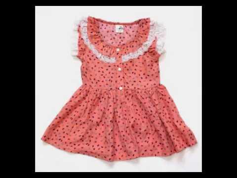 Summer Cotton Baby S Frock Designs Kids Birthday Simple Dress 19