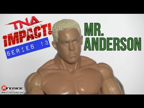TNA FIGURE INSIDER: Mr. Anderson - TNA Deluxe Impact 13 Jakks Pacific Wrestling Action Figure Review