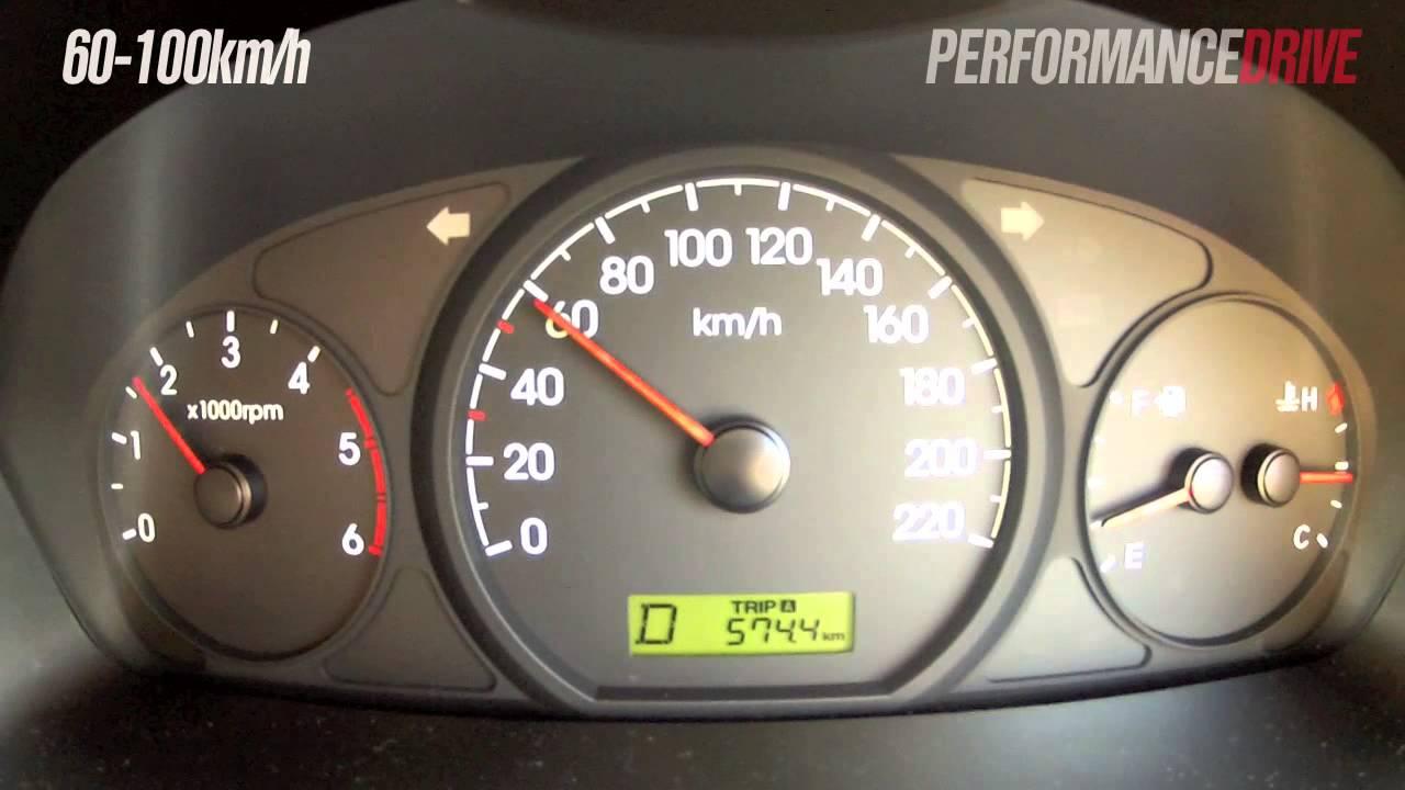 41669a3c374971 2014 Hyundai iLoad CRDi 0-100km h and engine sound - YouTube