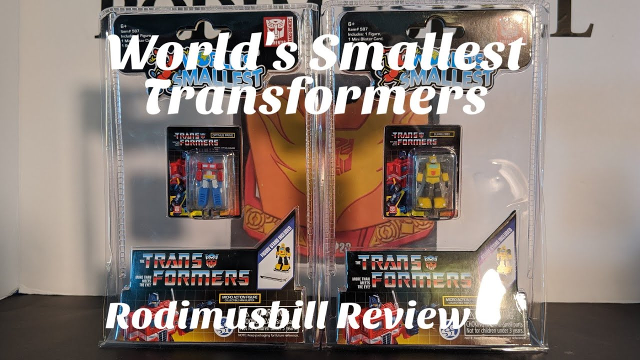 World's Smallest Transformers Review by Rodimusbill