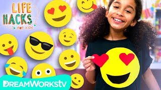 Customizable Emoji Shirt | LIFE HACKS FOR KIDS